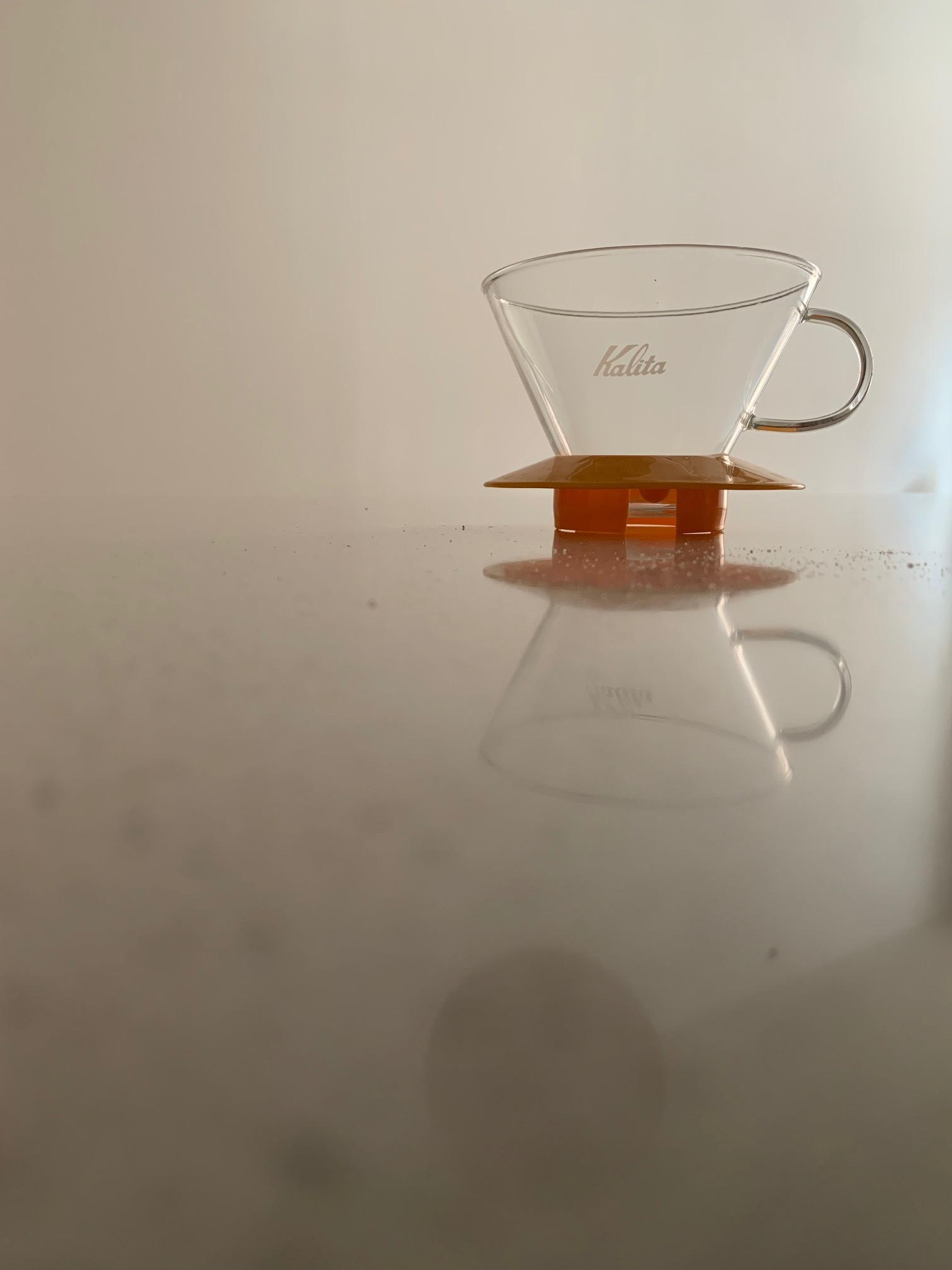 Kalita Wave drip support coffee from Eight ounce coffee supply dripper